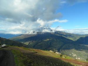 vulcán Tungurahua, Ecuador