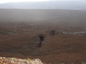 Volcano Chico near volcano Sierra Negra